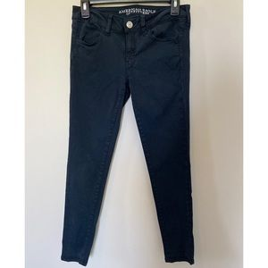 Navy blue American eagle jeans